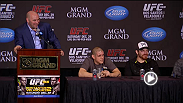 Watch the UFC 155 post-fight press conference.