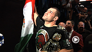 Go behind the scenes of the biggest fight of the year between Cain Velasquez and Junior dos Santos at UFC 155.