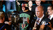 "Watch bantamweight Erik ""Goyito"" Perez' walkout for his UFC 155 bout, featuring music by Vicente Fernandez and his custom-designed luchador mask by Victor Martinez."