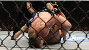 CB Dollaway utilizes an improved ground game - and a lot of tenacity - to stop veteran Joe Doerksen at UFC 119.