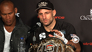 Hear from Tarec Saffiedine, Daniel Cormier, Nate Marquardt and Scott Coker at the STRIKEFORCE: Marquardt vs. Saffiedine post-fight press conference.