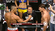 Watch the official weigh-in for UFC: Belfort vs. Bisping.