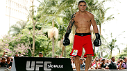 He was a finalist in TUF Brazil, but was unable to fight at the finale due to injury. Now Daniel Sarafian is finally making his UFC debut opposite the very dangerous C.B. Dollaway. Paula Sack discovers that Sarafian is confident making his Octagon debut.