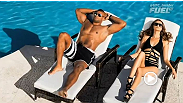 UFC 360 traveled to Miami for a cover photoshoot with Alistair Overeem. The supersized heavyweight was right at home being photographed with gators and models alike all while keeping his trademark smirk.