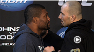 Flyweights, grumbling light heavies and lightweights who promise Fight of the Year - see the best of the UFC on FOX 6 pre-fight press conference.