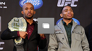 Coletiva de imprensa pré-UFC®: Johnson vs Dodson no 24 de janeiro, 2013 no the United Center em Chicago, Illinois. (Fotos de Josh Hedges/Zuffa LLC/Zuffa LLC via Getty Images)