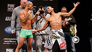 Demetrious Johnson and John Dodson. Rampage Jackson and Glover Teixeira. It&#39;s pure intensity at the weigh-in for UFC on FOX: Johnson vs. Dodson.