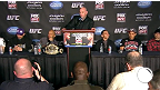 UFC on FOX 6 : Conf&eacute;rence de presse d&#39;apr&egrave;s-combat
