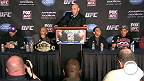 Coletiva de imprensa pos-UFC Johnson vs. Dodson
