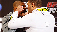 "Hear some of the best quotes from Rashad Evans, Antonio Rogerio Nogueira, Alistair Overeem, and Antonio ""Bigfoot"" Silva during the UFC 156 Media Day."