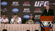 Watch the UFC 156 post-fight press conference.