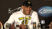 "Hear from Antonio ""Bigfoot"" Silva, Antonio Rogerio Nogueira, Tyron Woodley and Joseph Benavidez at the UFC 156 post-fight press conference."