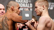 The official UFC on FUEL TV 7: Barao vs McDonald weigh in on February 15, 2013 at Wimbley Arena inLondon, United Kingdom. (Photo by Josh Hedges/Zuffa LLC/Zuffa LLC via Getty Images)