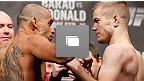 UFC&reg; on FUELTV 7: Barao vs McDonald Weigh-in Photo Gallery