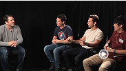 UFC light heavyweight challenger Chael Sonnen sits down with the cast of 21 & Over to discuss their upcoming movie and get their take on UFC 157.