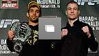 UFC® on FUELTV 7: Barao vs McDonald Conferencia Previa Fotogalería