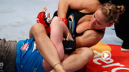 Watch Ronda Rousey use her signature move - the armbar - to defeat Miesha Tate, and become the STRIKEFORCE women's bantamweight champion.