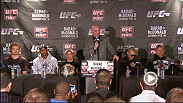 Watch the post-fight press conference archive with Gunnar Nelson, Jimi Manuwa, Renan Barao, Cub Swanson, Tom Watson, Michael McDonald and Dana White.