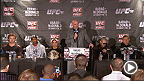 UFC on FUEL TV 7 : Conf&eacute;rence de presse d&#39;apr&egrave;s-combat