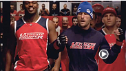 Bubba and Kelvin prepare to go to war. Watch The Ultimate Fighter Tuesdays at 9 ET/PT on FX with replays on FUEL TV.
