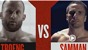 Tor Troeng and Josh Samman prepare to face-off. Watch The Ultimate Fighter Tuesdays at 9 ET/PT on FX with replays on FUEL TV.