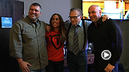 Follow headliner Liz Carmouche during one day of her debut UFC fight week as she visits Larry King Now with UFC pres Dana White.