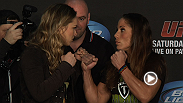 Watch some of the best moments from the UFC 157 pre-fight press conference in Anaheim, California.