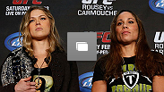 UFC pre-fight press conference at Honda Center on February 21, 2013 in Anaheim, California.  (Photo by Josh Hedges/Zuffa LLC/Zuffa LLC via Getty Images)