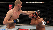 Stefan Struve uses his insanely long limbs to secure a triangle choke against striker Pat Barry at UFC Live 6.