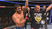 Featherweight Dennis Bermudez discusses his exciting victory over Matt Grice at UFC 157.