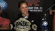 Watch some of the best moments from the UFC 157 post-fight press conference.