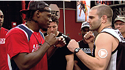 Clint Hester and Jimmy Quinlan get ready for war. Watch The Ultimate Fighter Tuesdays at 9 ET/PT on FX with replays on FUEL TV.
