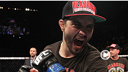 Former UFC welterweight champion Carlos Condit is aware of Johny Hendricks&#39; punching power, but says it won&#39;t stop him from brawling at UFC 158.