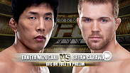 Kanagawa's Takeya Mizugaki is one of the true warriors in the UFC today will look to keep his winning ways going in a showdown with former Ultimate Fighter cast member Bryan Caraway, who is 2-0 and coming off a Fight-of-the-Night victory at UFC 149.