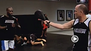 At the TUF gym, it&#39;s Sunday Fun Day. Watch The Ultimate Fighter Tuesdays at 9 ET/PT on FX with replays on FUEL TV.