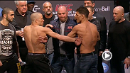 Watch the official weigh-in for UFC 158: St-Pierre vs. Diaz.