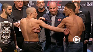 Watch the official weigh-in for UFC 158: St-Pierre vs. Diaz live Friday, March 15, 2013 at 4pm ET/1pm PT.