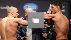 Galeria de fotos da pesagem do UFC&reg; 158