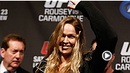 UFC President Dana White announces the coaches for Season 18 of The Ultimate Fighter - UFC women's bantamweight champion Ronda Rousey, and the winner of Miesha Tate vs. Cat Zingano.