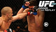 Reviva cada momento empolgante do UFC 158, confira a programa&ccedil;&atilde;o no canal Combate.
