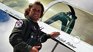 TUF 17 Finale headliner Urijah Faber suits up to take flight with the USAF Thunderbirds.