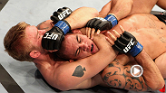 This rear-naked choke was so nice that Alexander Gustafsson applied it twice - see the Swede's evolution as a mixed martial artist as the Swedish striker ruins James Te Huna's home-crowd fun at UFC 127.
