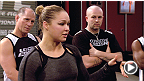 TUF 17: Ronda Rousey&#39;s Pep Talk