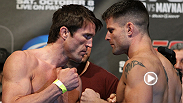 Steel-jawed middleweight contenders Chael Sonnen and Brian Stann went head-to-head in this UFC 136 bout that would send one man further up the ranks of the Anderson Silva-run division.