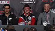 Watch the post-fight press conference
