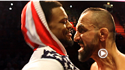 See some of the livelier moments from the UFC on FUEL TV 9 weigh-in, featuring Tom Lawlor, Conor McGregor, Marcus Brimage, Reza Madadi and Michael Johnson.