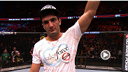 Former Strikeforce light heavyweight champion Gegard Mousasi makes a successful UFC debut, battering late replacement Ilir Latifi en route to a unanimous decision victory. Hear what he had to say about his performance.