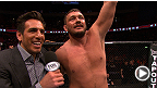 UFC on FUEL TV 9 : Entrevues d'après-combat de Matt Mitirone et Brad Pickett