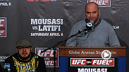 Some of the best moments from the UFC on FUEL TV 9 post-fight press conference, featuring Dana White, Ilir Latifi, Gegard Mousasi and more.