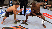 Early favorite Uriah Hall faces powerful underdog Kelvin Gastelum in an Team Sonnen vs. Team Sonnen race for the title of The Ultimate Fighter.